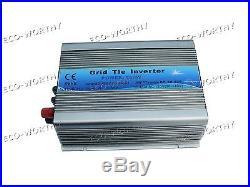 1.2KW 1KW 600W 500W 300W Waterproof Mirco Grid Tie Inverter with MPPT Function