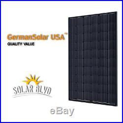 1.6 KW Micro Inverter Grid Tie Solar Panel System German Solar Enphase IQ7+