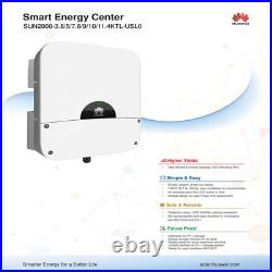 10 KW Huawei Solar Inverter- SUN2000-10 KTL-USL0 gridtie inverter 240V