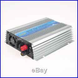 1000/600/500 Watt Micro Solar Grid Tie Inverter MPPT Pure Sine Wave 20-60V DC EU