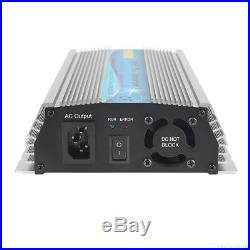 1000/600/500W Grid Tie Inverter DC22-60V MPPT Pure Sine Wave Inverter Power