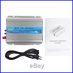 1000/600/500W Grid Tie Inverter DC22-60V MPPT Pure Sine Wave Inverter Power ao4m