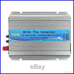 1000/600/500W Watt Grid Tie Inverter for Solar Panel DC22-60V to AC 230V MPPT WF