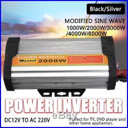 1000-6000W Spannungswandler Solar Grid Tie Inverter Stromwandler DC12V to AC220V