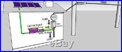 1000GTIL solar grid tie inverter with power limiter prevent extra power to grid