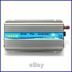 1000W 110V MPPT Grid Tie Solar Inverter Fr Wind Turbine Solar Generator Compact