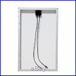 1000W Grid-Tie Complete Kit 10pcs 100W Solar Panel & Power Inverter for Home