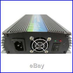 1000W Grid Tie Inverter 110V MPPT Pure Sine Wave Inverter 50Hz/60Hz Auto