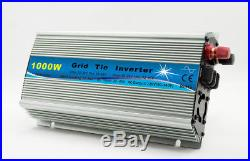 1000W Grid Tie Inverter 110V Output MPPT Pure Sine Wave Inverter Power UYT