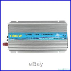 1000W Grid Tie Inverter 110V or 220V MPPT Pure Sine Wave Inverter 48Hz/62Hz Auto