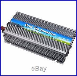 1000W Grid Tie Inverter 110V or 220V MPPT Pure Sine Wave Inverter 50Hz/60Hz Auto