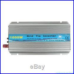 1000W Grid Tie Inverter AC 220V MPPT Pure Sine Wave Inverter 50Hz/60Hz Auto UR4