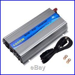 1000W Grid Tie Inverter DC10.8-30V For 24V/36V Solar Panel Micro Inverter AC110V