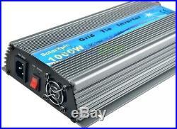 1000W Grid Tie Inverter DC18V to AC230V Pure Sine Wave Inverter MPPT 50Hz/60Hz