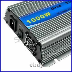 1000W Grid Tie Inverter DC20-45V to AC110V for 30V/36V PV Panel Solar Inverter