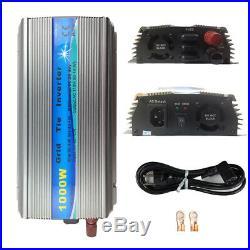 1000W Grid Tie Inverter DC20-45V to AC230V MPPT Pure Sine Wave Inverter