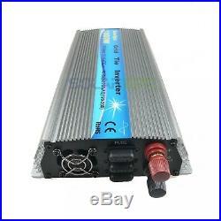 1000W Grid Tie Inverter DC24V to AC110V Pure Sine Wave Inverter MPPT 50Hz/60Hz