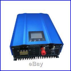 1000W Grid Tie Inverter LCD Battery Discharge Adjutable Grid Tie Inverter