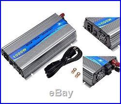 1000W Grid Tie Inverter MPPT For Solar Panel Stackable Pure Sine Wave 10.8-30V