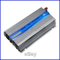 1000W Grid Tie Inverter MPPT Pure Sine Wave DC10.8-30V Solar Input AC110V Output