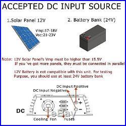 1000W Grid Tie Pure Sine Wave Inverter DC10.8V-30V Input to AC110V/220V Output