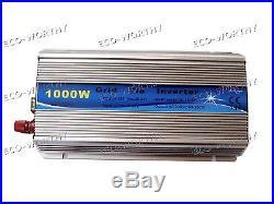 1000W Grid Tie Solar System 10100W Solar Panel & Inverter for 12V RV Home US