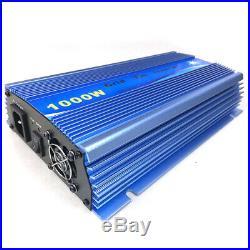 1000W Grid Tie inverter MPPT Pure Sine Wave DC10.8-30V/22-45V to AC110V/230V