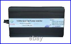 1000W Grid Tie power inverter DC46V-112V / AC110V, solar panel, mppt