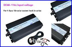 1000W Grid Tie power inverter DC46V-112V / AC110V, solar panel, mppt, USA stock