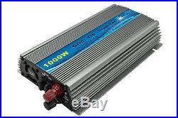 1000W Grid tie inverter, mppt Pure sine wave inverter, 10.5-28V/20-45V DC input