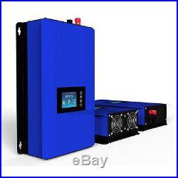 1000W LCD Solar Grid Tie Inverter, MPPT pure sine wave built-in limiter optional