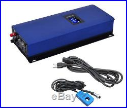 1000W LCD Solar Grid Tie Inverter, with Wifi and Limiter Function 22-60V Input