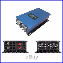 1000W LCD Wind Power Grid Tie Inverter Pure Sine Wave with Dump Load Resistor