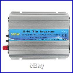 1000W MPPT Grid Tie Inverter Pure Sine Wave DC20-45V AC110/230V Solar Inverter W