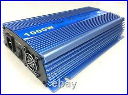 1000W MPPT Grid Tie Solar Inverter DC22-45V AC110V Pure Sine Wave DIY System