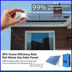 1000W MPPT Solar Grid Tie Inverter with Power Limiter Sensor DC 45-90V / 26-60V