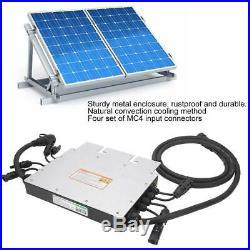 1000W MPPT Solar Micro Inverter Grid Tie Inverter 4 x 250W SG1000MQ