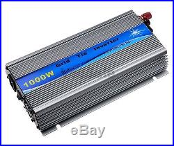 1000W Micro Grid Tie Inverter 12V MPPT Stackable For Grid Tie Solar System