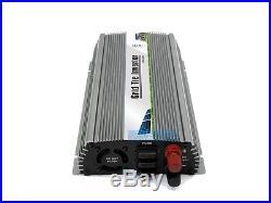 1000W Micro Grid tie inverter DC20-45V home system MPPT pure sine inverter