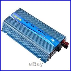 1000W On Grid Tie Inverter DC20-45V to AC110V/220V For 24V 30V 36V Solar Panel