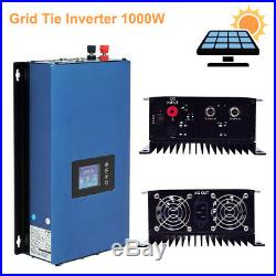 1000W On Grid Tie Inverter with Limiter for Solar Panels/Battery PV System Power