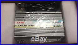 1000w Solar Grid Tie Inverter Fir Home Use 10.8-28vdc Input Ac 90v-140v DC