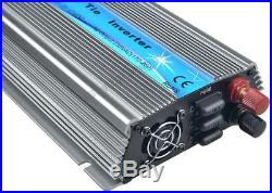 1000W Solar Grid Tie Inverter 110V or 220V Pure Sine Wave Inverter 18V/24V/36VDC
