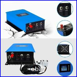 1000W Solar Grid Tie Inverter with Power Limiter Sensor DC45-90V AC110/220V Auto