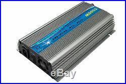 1000W Solar Grid tie inverter, mppt Pure sine wave, 10.5-28V/ 20-45V to 110/220V