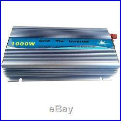 1000W Solar On Grid Tie Inverter For 10.8V45V DC Panel To 110V / 220V AC MPPT