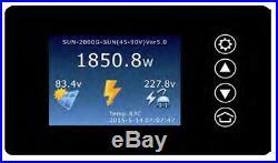 1000W Solar on Grid Tie Inverter, SUN POWER MPPT PV System DC 22V-60V/45V-90V