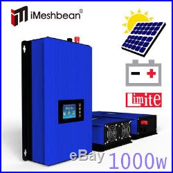 1000W Solar on Grid Tie Inverter with Power Limiter DC 22-65V/45-90V PV system