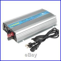 1000W Watt Micro Grid Tie Solar Power Inverter Solar Panel DC20-45V AC 230V MPPT
