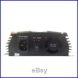 1000W Watt Solar Grid Tie Inverter DC 18V 30V 36V To AC 110V/220V With MPPT